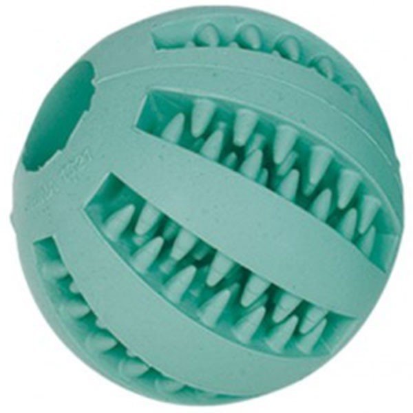 Nobby Vollgummiball Dental Fun türkis 7 cm