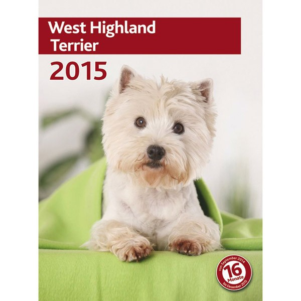 Kalender West Highland Terrier 2015