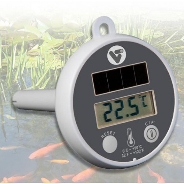 Solar Pond Thermometer digitales Teichthermometer