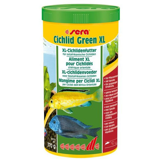 Sera Cichlid Green xl 1000 ml