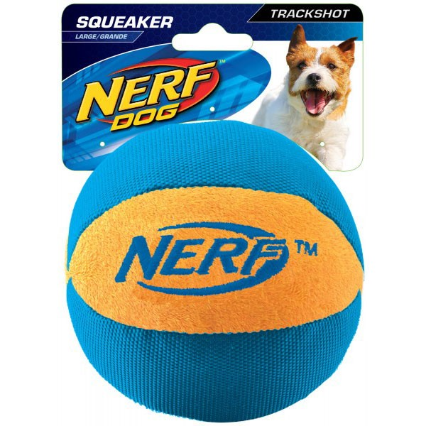 Nerf Dog Ultraplush Trackshot Ball 11,4 cm orange